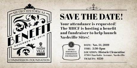 Metro Historical Commission Foundation Benefit tickets