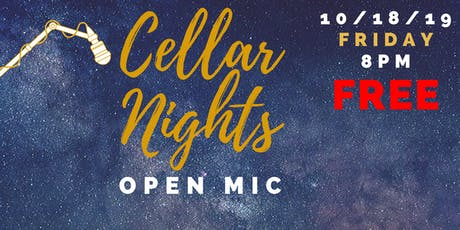 CELLAR NIGHTS: OPEN MIC tickets