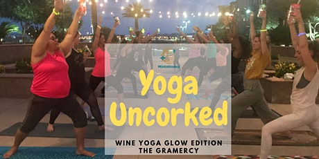 Yoga Uncorked-Wine Yoga GLOW Edition tickets
