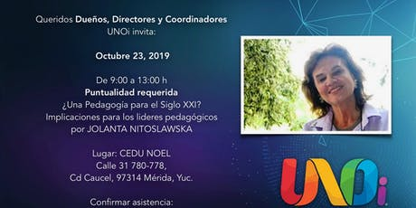 Taller Coordinadores UNOi boletos