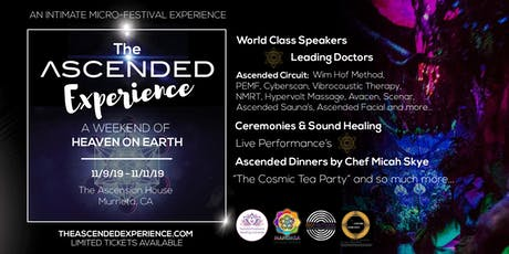 The Ascended Experience - Healing, Wellness, Metaphysics, Art, Music & Food tickets