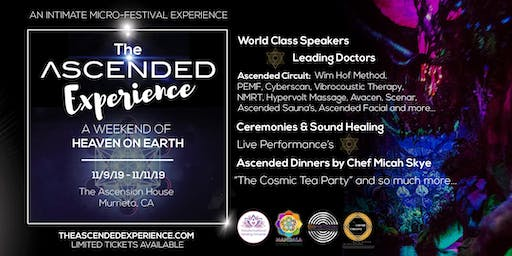 The Ascended Experience - Healing, Wellness, Metaphysics, Art, Music & Food