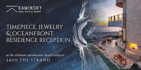 Timepiece & Jewelry Reception | 3400 The Strand, Manhattan Beach tickets