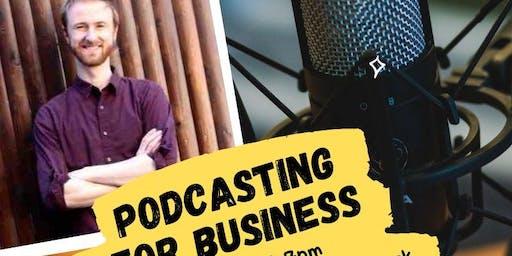 Free workshop! Podcasting for Business with David Lishansky