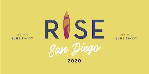 RISE Weekend San Diego June 11th-13th, 2020
