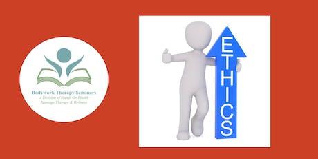 CE Class:  Ethics: Scope of Practice tickets