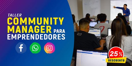 Community Manager para Emprendedores tickets