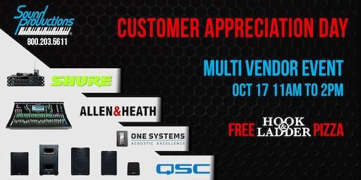 Sound Pro Customer Appreciation Day!