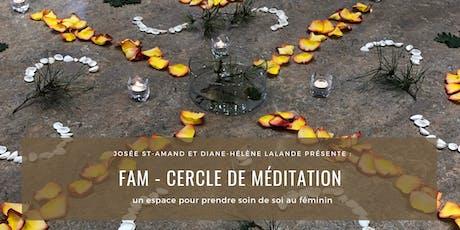 FAM - Cercle de méditation pour femme (3 ateliers) tickets