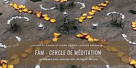 FAM - Cercle de méditation pour femme (3 ateliers) billets