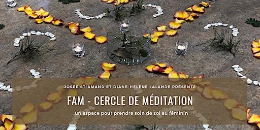 FAM - Cercle de méditation pour femme (3 ateliers)