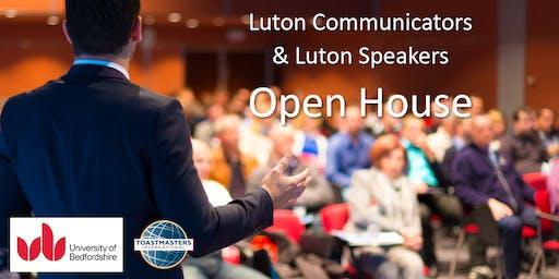Luton Communicators & Luton Speakers Open House
