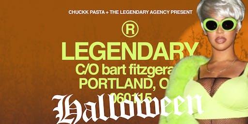 Chuckk Pasta + The Legendary Agency Presents Legendary Halloween