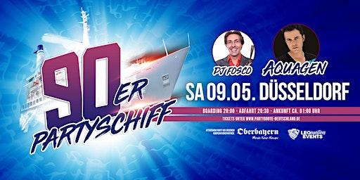 """90er Partyschiff mit AQUAGEN """"live DJ Set"""" - Düsseldorf"""