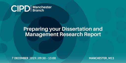 Preparing your Dissertation and Management Research Report (Student Event)