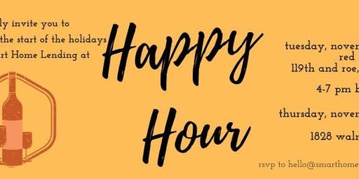 Smart Home Lending's Happy Hour