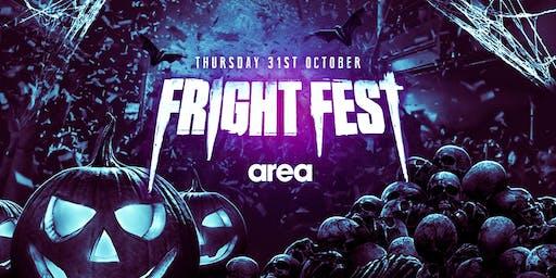 FRIGHT FEST HALLOWEEN @ Area Sheffield