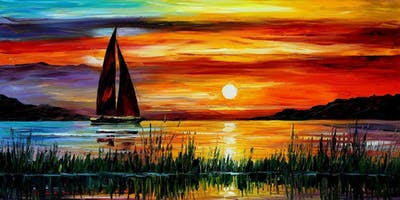 "LGBTQ Paint ""The Sunset"" plus 2 for 1 HH Drinks!!!! - Nov 19"