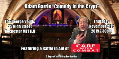 "Adam Garrie ""Comedy in the Crypt\"""