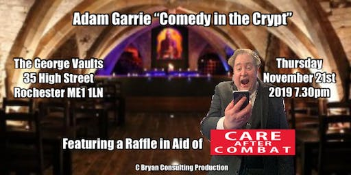 "Adam Garrie ""Comedy in the Crypt"""