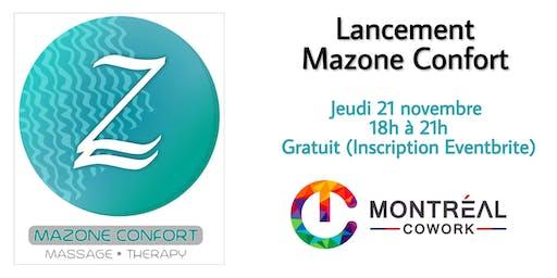 Lancement Mazone Confort