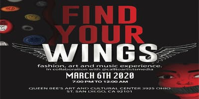 FIND YOUR WINGS Fashion, Art, and Music Experience