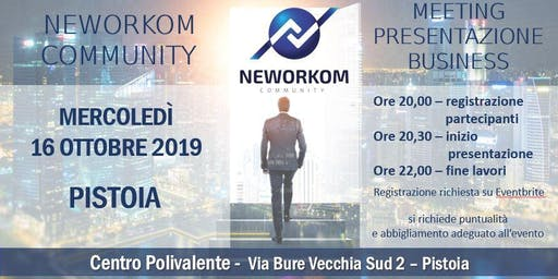 Presentazione Business Meeting