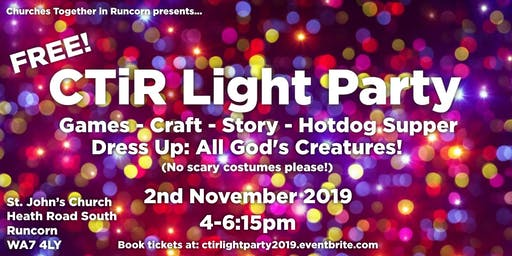 Churches Together in Runcorn Light Party