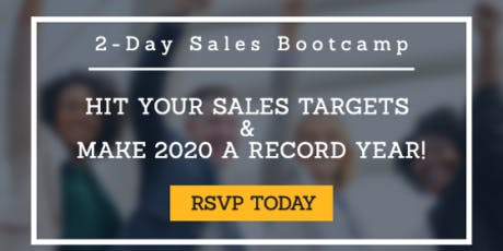 Sandler Training 2-Day Sales Boot Camp tickets