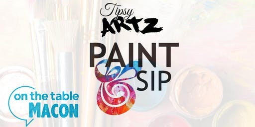 On The Table Macon: Art Culture Sip & Paint