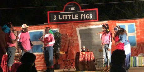 Summer Gardens Outdoor Theater Presents...The 3 Little Pigs With A Twist  tickets