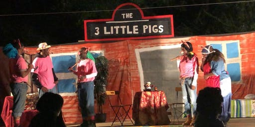 Summer Gardens Outdoor Theater Presents...The 3 Little Pigs With A Twist