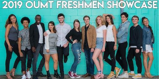 OUMT Freshmen Showcase - Friday, October 25 & Saturday, October 26, 7:00 pm
