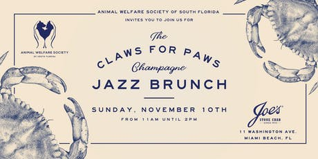 Claws for Paws tickets