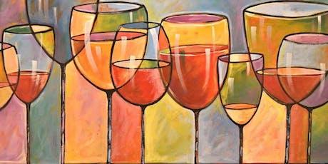 Sip & Paint PICS OF WINE GLASSES @ STONE CREEK BAR & LOUNGE Sun.Nov. 10 tickets