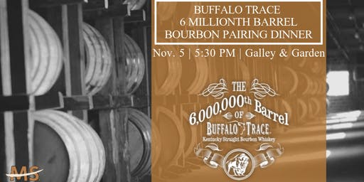 Buffalo Trace 6 Millionth Barrel Dinner