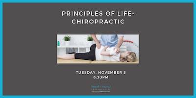 Principles of Life- Chiropractic
