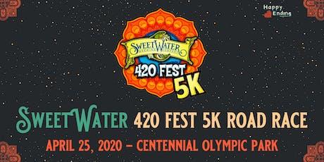 SweetWater 420 Fest 5K 2020 - Road Race tickets
