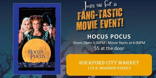 Movie Night at the Market: Hocus Pocus