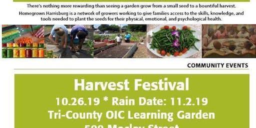 HomeGrown Harrisburg Harvest Festival
