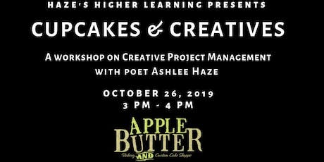 Creatives & Cupcakes w/ Ashlee Haze: Creative Project Management tickets