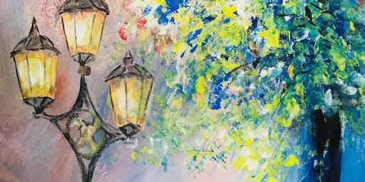 Paint Night - The Enchanted Autumn (Hippo Art Studio)