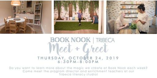 Book Nook Tribeca | Meet + Greet