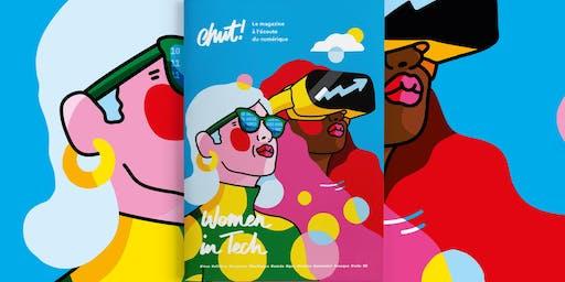 Chut, on célèbre le lancement de notre premier magazine papier !