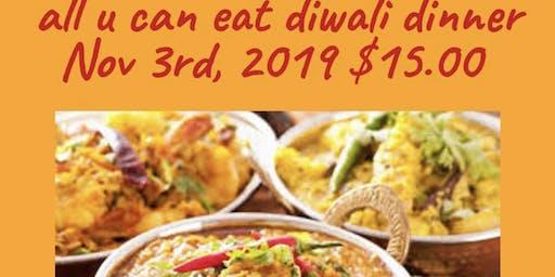 Unlimited Vegan Indian Dinner