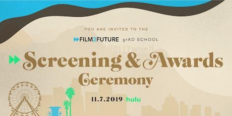 Film2Future Awards Gala 2019 tickets