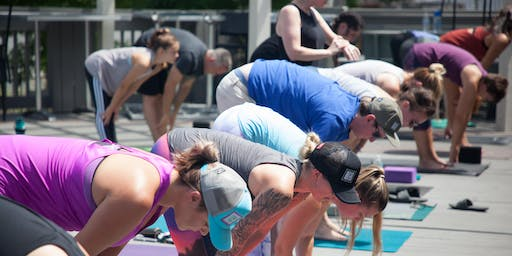 Free Yoga and Free Drink: Namaste For A Drink!!