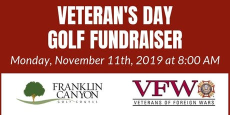 Veteran's Day Golf Fundraiser at Franklin Canyon tickets