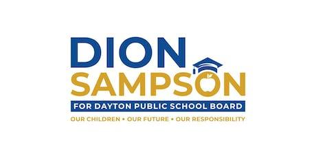 MEET & GREET - Dion Sampson Sr. for Dayton Public School Board tickets