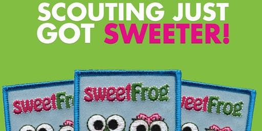 Daisy and Brownie Badges at sweetFrog Salisbury